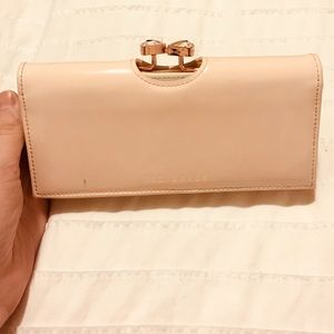 Pale Pink Ted Baker Wallet